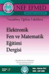 Necatibey Eğitim Fakültesi Elektronik Fen ve Matematik Eğitimi Dergisi