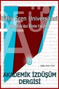 Bitlis Eren Üniversitesi İktisadi Ve İdari Bilimler Fakültesi Akademik İzdüşüm Dergisi