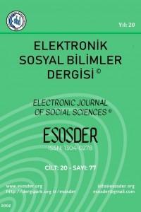 Elektronik Sosyal Bilimler Dergisi
