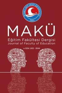 Mehmet Akif Ersoy Üniversitesi Eğitim Fakültesi Dergisi
