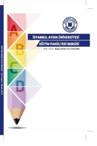 İstanbul Aydın Üniversitesi Eğitim Fakültesi Dergisi